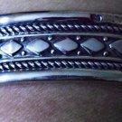 Hallmark Egyptian Pharaoh Silver Cuff Bracelet, Nefertiti , Siwi Tribal style