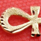 Egypt HallMark 18 Karat Gold pendant, Pharao's Key of Life Ankh 2.6 Grams