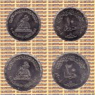 "2004 Egypt Egipto  مصر Metal Coin""  National Women 's Council""Set of two coins"