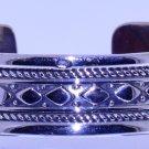 Hallmark Egyptian SEWEI Silver Bracelet, Sterling Silver Islamic Tribal Design