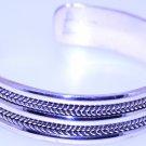 Hallmark Egyptian Silver Bracelet,  Oxodized Silver, Bedwian Siwi Islamic Design