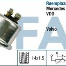 14870 oil pressure sensor VOLVO 440 480 3417000 0015425617