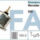 14730 oil pressure sensor MERCEDES W201 W124 S124 W126 W140 W463 0055421817