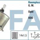 14560 oil pressure sensor OPEL Corsa Kadett Omega 0-5 Bar 90040918