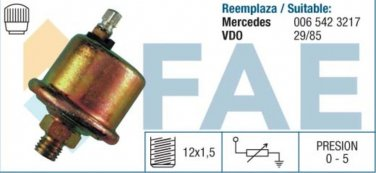 14070 oil pressure sensor MERCEDES TRUCKS 508D 510 0065423217