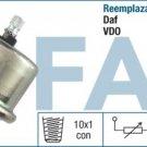 14060 oil pressure sensor DAF 615 825 162112 29/10 0-10 Bar