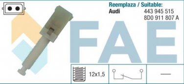 24560 stop light switch AUDI A4 A6 A8 VW 443945515