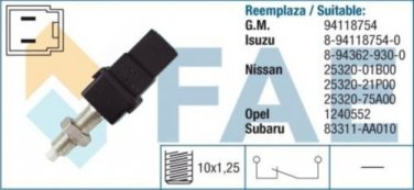24450 stop light switch for FORD HONDA ISUZU NISSAN OPEL SUBARU 94118754
