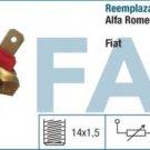 31600 sensor temperature ALFA ROMEO 33 75 155 FIAT LANCIA 60805842 60808202