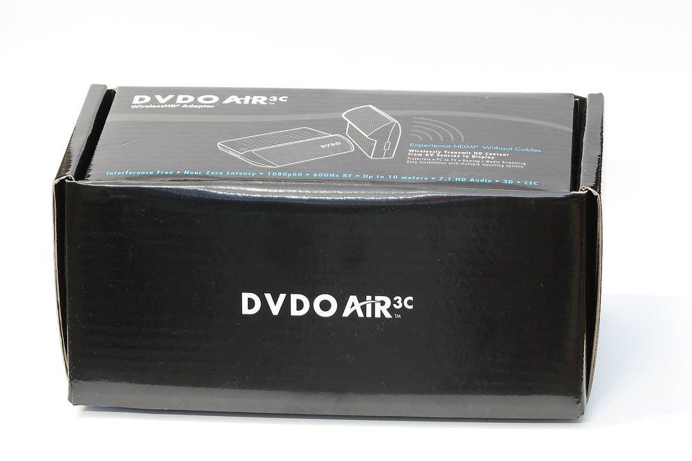 NEW DVDO AIR3C WIRELESS HD ADAPTER 60GHZ HDMI 1080P 10m/33ft Extender