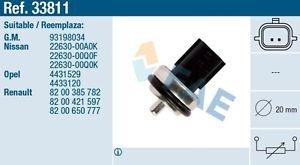 33811 temperature sensor for NISSAN OPEL RENAULT 93198034 8200385782 4431529