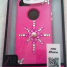 Rhinestone Bling Otterbox Commuter Series case Iphone 5 5 & 5S