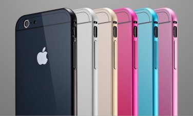 Ultra-thin Aluminum Metal Case Back Cover Skin for Apple iPhone 6 4.7