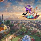 "Aladin - inspirated to Kinkade - 35.43"" x 23.93"" - Cross Stitch Pattern Pdf C505"