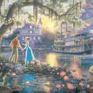 "The Princess and the Frog - inspirated to Kinkade  - 35.43"" x 23.71"" - Cross Stitch Pattern Pdf C497"