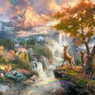 "Bambi First Year - inspirated to Kinkade  - 35.43"" x 23.57"" - Cross Stitch Pattern Pdf C515"