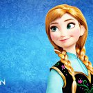 "Princess Anna Frozen - 6.14"" x 9.93"" - 110w x 144h - Cross Stitch Pattern Pdf C323"