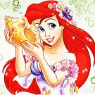 "Princess Ariel - 13.79"" x 10.36"" - Cross Stitch Pattern Pdf C324"