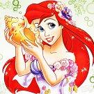 """Princess Ariel - 13.79"""" x 10.36"""" - Cross Stitch Pattern Pdf C324"""