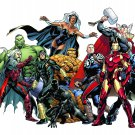"Marvel supereroes - 31.36"" x 20.71"" - Cross Stitch Pattern Pdf C232"