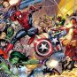 "Marvel superheroes - 21.65"" x 12.20"" - Cross Stitch Pattern Pdf C552"