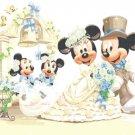 "Minnie & Mickey Mouse married - 23.64"" x 17.71"" - Cross Stitch Pattern Pdf C481"