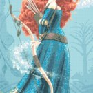 "Merida - 11.79"" x20.21"" - Cross Stitch Pattern Pdf C555"