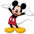 "Mickey mouse - 13.57"" x 13.93"" - Cross Stitch Pattern Pdf C241"