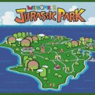 "Jurassic Park level - 31.50"" x 24.40"" - Cross Stitch Pattern Pdf C804"