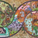 "Lord of rings - 35.43"" x 17.00"" - Cross Stitch Pattern Pdf C826"