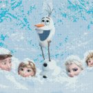 "Frozen all characters - 35.43"" x 22.14"" - Cross Stitch Pattern Pdf C832"