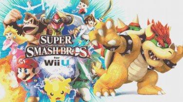 "Super smash bros - 27.56"" x 15.50"" - Cross Stitch Pattern Pdf C838"