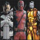 "superheroes bookmark - 17.71"" x 10.64"" - Cross Stitch Pattern Pdf C1157"