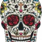 """Sugar Skull  - 11.71"""" x 8.93"""" - Cross Stitch Pattern Pdf C639"""