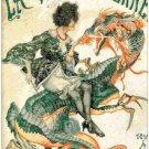 "La vie parisienne belle epoque - 15.71"" x 21.79"" - Cross Stitch Pattern Pdf C1322"