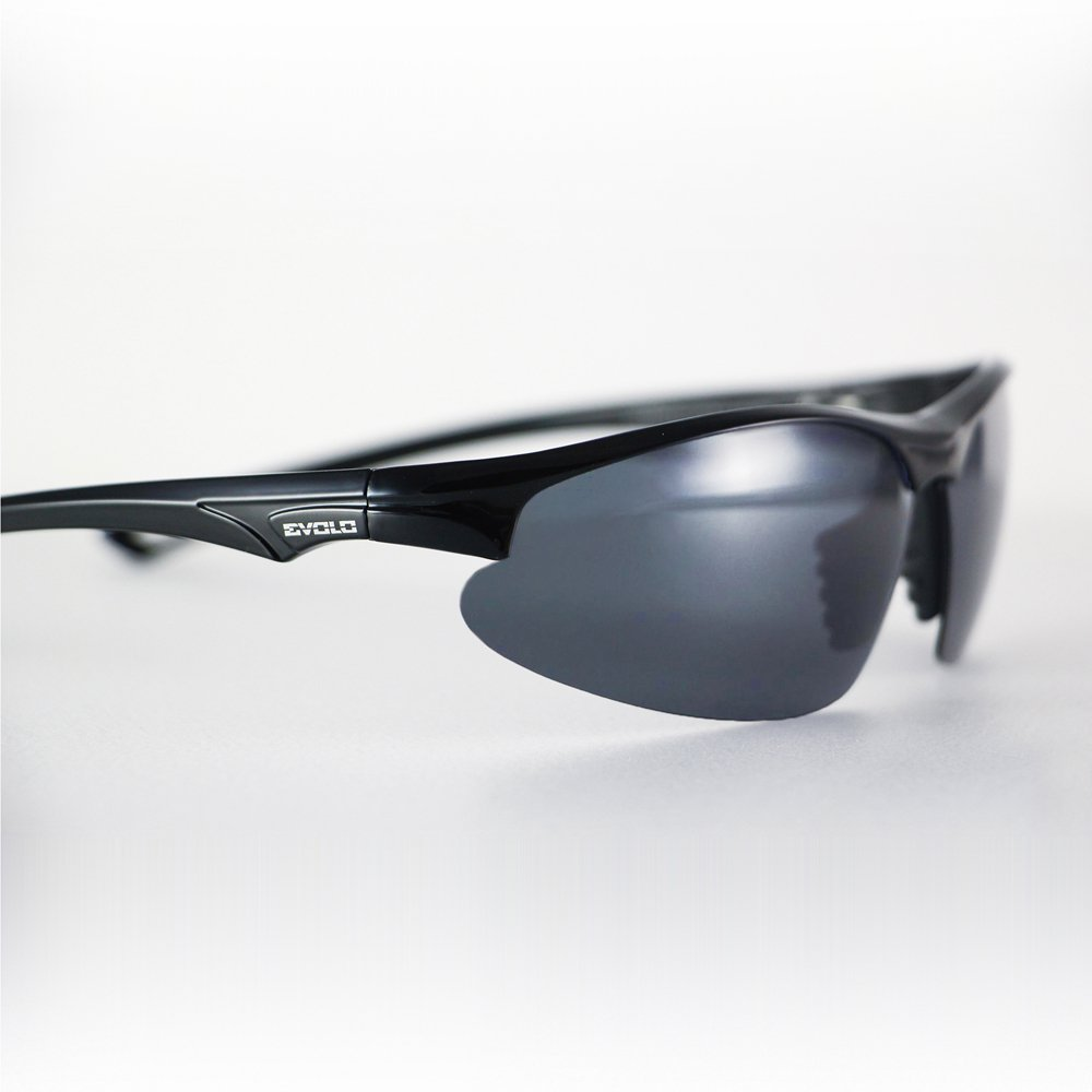 Evolo Carbon Fiber Goggles - Black