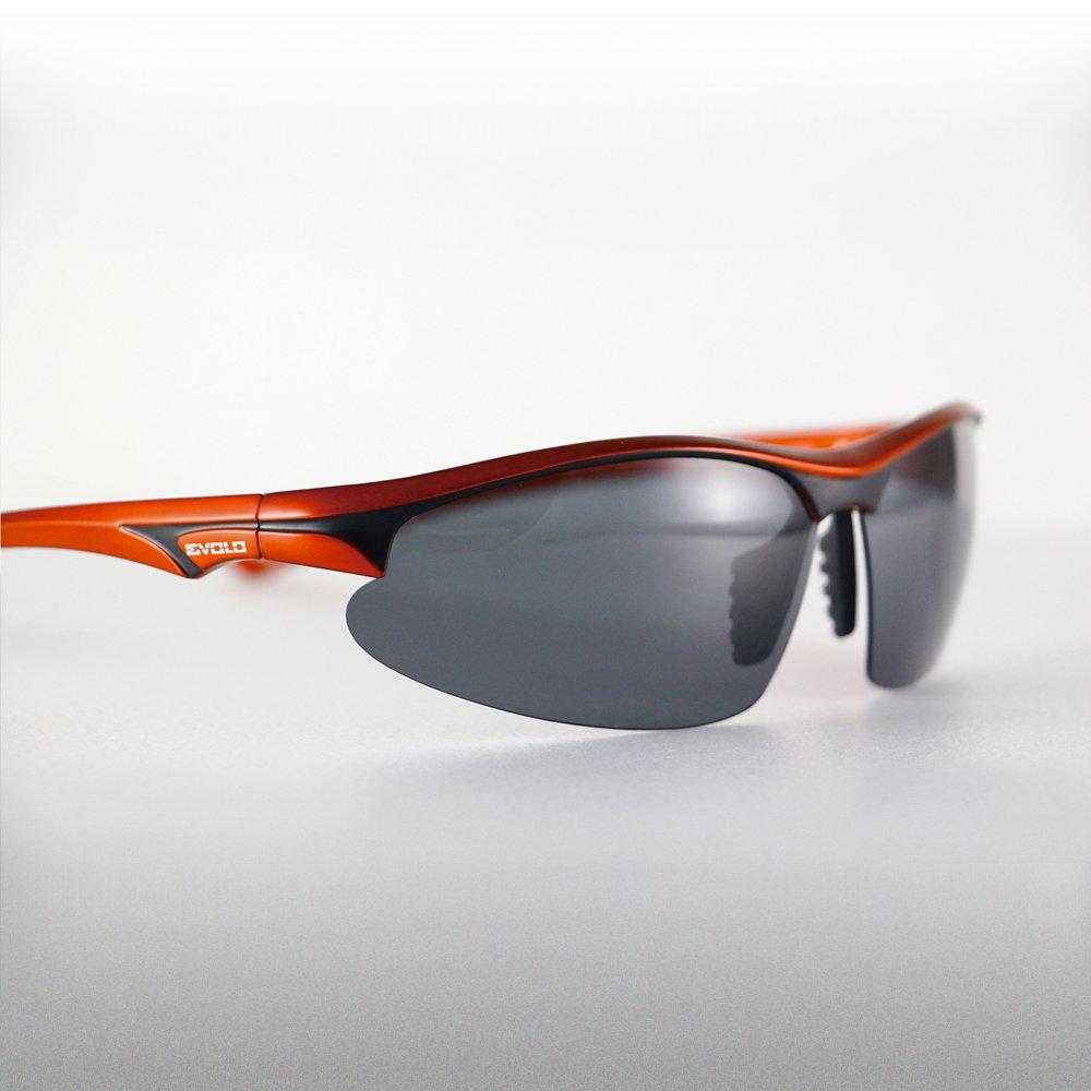 Evolo Carbon Fiber Goggles - Red
