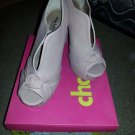 lady's pink heel from charlotte russe