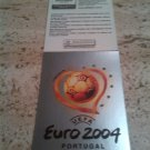 Panini EURO 2004 Number 1 Poster Affiche Foil Sticker Mint