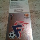 Panini EURO 2004 Number 93 France Foil Sticker Mint