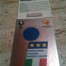 Panini EURO 2004 Number 221 Italy Foil Sticker Mint