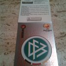 Panini EURO 2004 Number 296 Germany Foil Sticker Mint