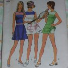 vintage 1972 Simplicity Tennis dress pattern size ladies 10 FREE MAILING