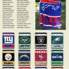All 32 NFL Football Blanket's