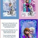 Disney's Frozen Blanket's And Throws