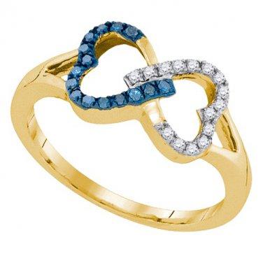 0.15CTW DIAMOND FASHION RING
