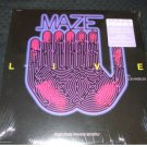 MAZE ~ LIVE IN LOS ANGELES LP FEAT. FRANKIE BEVERLY SEALED/MINT NEVER PLAYED