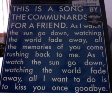 Communards - For A Friend EP RARE ****SEALED**** MINT CONDITION !!!
