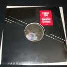"POINTER SISTERS ~ I NEED YOU 12"" / RARE/ NEVER PLAYED/MINT/SEALED"