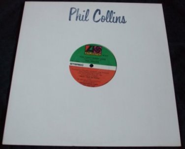 PHILL COLLINS - YOU CAN'T HURRY LOVE / PROMO / MINT